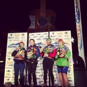 Sonya Clark, Lisa Bates, Warren Bates, Sarah Fairmaid on the podium-1